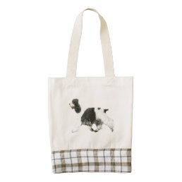 English Cocker Spaniel Zazzle HEART Tote Bag