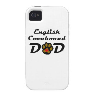 English Coonhound Dad iPhone 4/4S Covers
