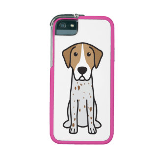 English Coonhound Dog Cartoon iPhone 5/5S Cases