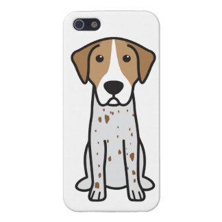 English Coonhound Dog Cartoon iPhone 5 Cases
