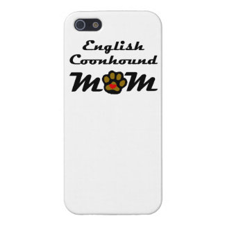 English Coonhound Mom Case For iPhone 5