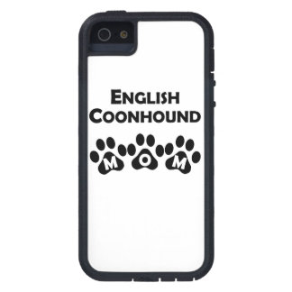 English Coonhound Mom iPhone 5/5S Cases