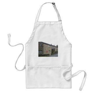 English cottage adult apron