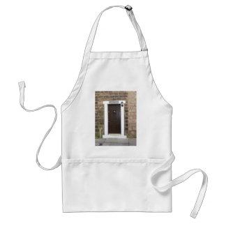 English Cottage Door Adult Apron