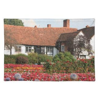 English cottage garden Amersham Bucks UK Placemat