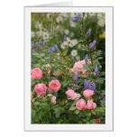 English Cottage Garden Card