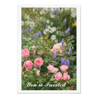 English Cottage Garden Invitation