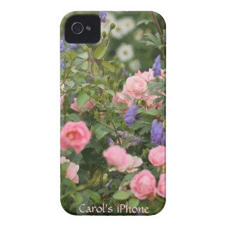 English Cottage Garden iPhone 4 Case-Mate Case