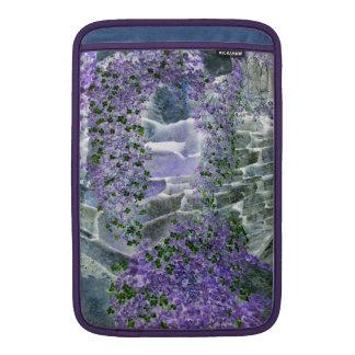 English cottage garden Macbook Air sleeve