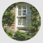 English Cottage I Classic Round Sticker