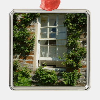 English Cottage I Metal Ornament