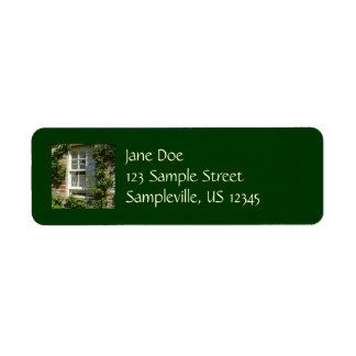 English Cottage I Return Address Labels