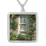 English Cottage I Silver Plated Necklace