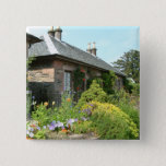 English Cottage II with Flower Garden Photography Button
