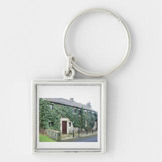 English Cottage Keychain