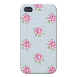 English Cottage Roses iPhone 4/4S Covers