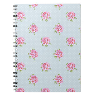 English Cottage Roses Notebook