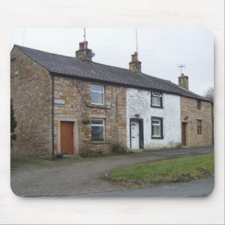 English cottages mouse pad