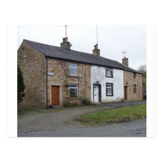 English cottages postcard