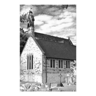 English Country church Stationery