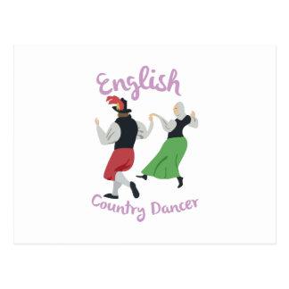 English Country Dancer Postcard
