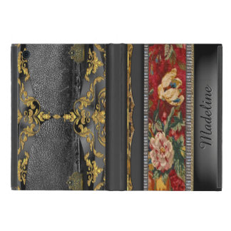 English Country  Floral Vintage Cover For iPad Mini