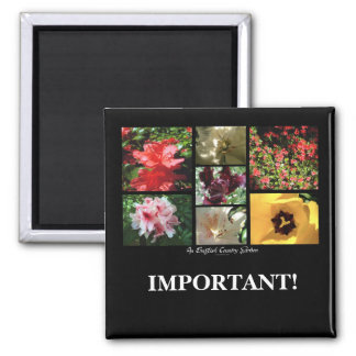 English Country Garden Montage | Magnet