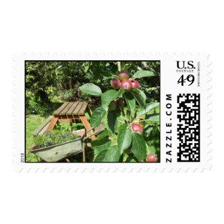 English country garden postage