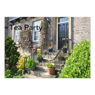 English Country Garden Tea Party Invitation