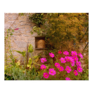 English Country House Garden in Summer Art Photo