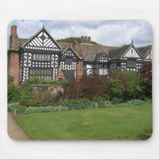 English country manor house mousepad