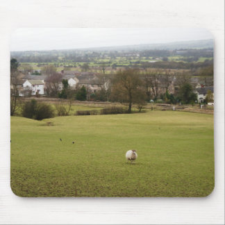 English countryside mouse pad