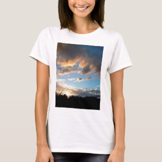 English Countryside Pictures Clouds T-Shirt