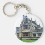 English countryside pictures Rushton Hall (3) Keychain