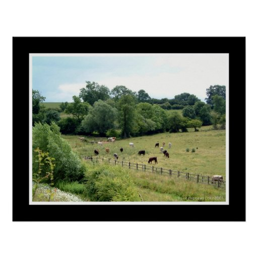 English Countryside Posters