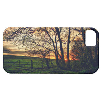 English Countryside Sunset HDR iPhone 5 case