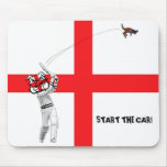 English cricket-Ashes 2009 Mousepads