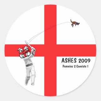 English cricket stickers