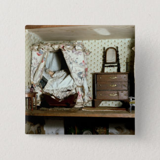 English Doll's House Button
