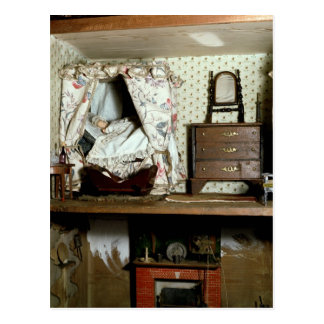 English Doll's House Postcard