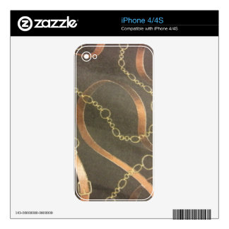 English Equestrian - Brown iPhone 4 Decal