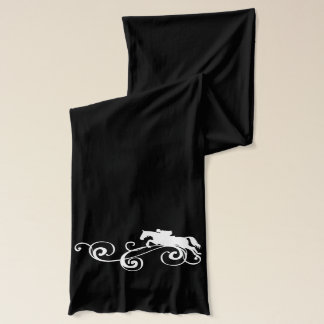 English Equestrian Flourish Scarf