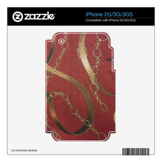 English Equestrian - Red Skins For iPhone 3