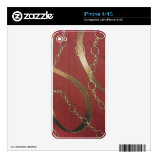 English Equestrian - Red Skins For iPhone 4S