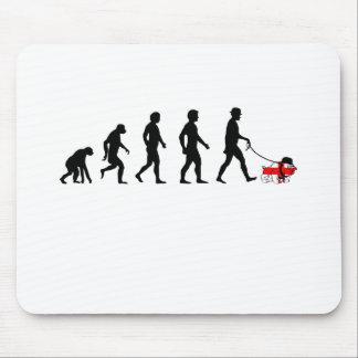 English evolution mouse pad