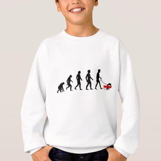 English evolution sweatshirt