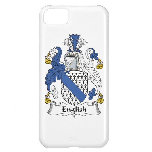 English Family Crest Case For iPhone 5C