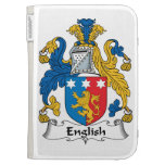 English Family Crest Cases For Kindle