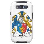 English Family Crest Samsung Galaxy SIII Case