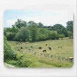 English Farmland Mouse Pad